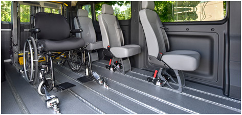 Ram ProMaster with a SmartFloor system | Silver Cross Automotive